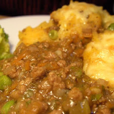 Lightened up Cottage Pie With Golden Mash for 2