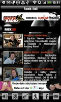 Screenshot of Rock Radio CZ