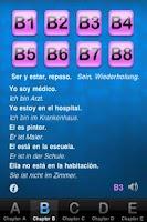 Screenshot of Spanisch lernen
