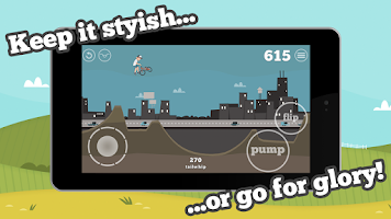 Screenshot of Pumped: BMX Free