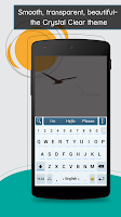 Screenshot of ai.type Crystal Clear Theme