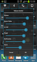 Screenshot of Control Panel