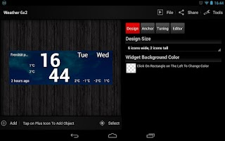 Screenshot of Make Your Clock Widget HD Pro