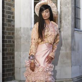 by Monika Schaible - People Fashion ( monika schaible, victorian, frills, pink, feminine, hat )
