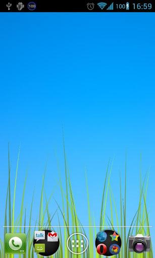 Grass live wallpaper