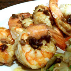 Boiled Shrimp With Spicy Butter Sauce