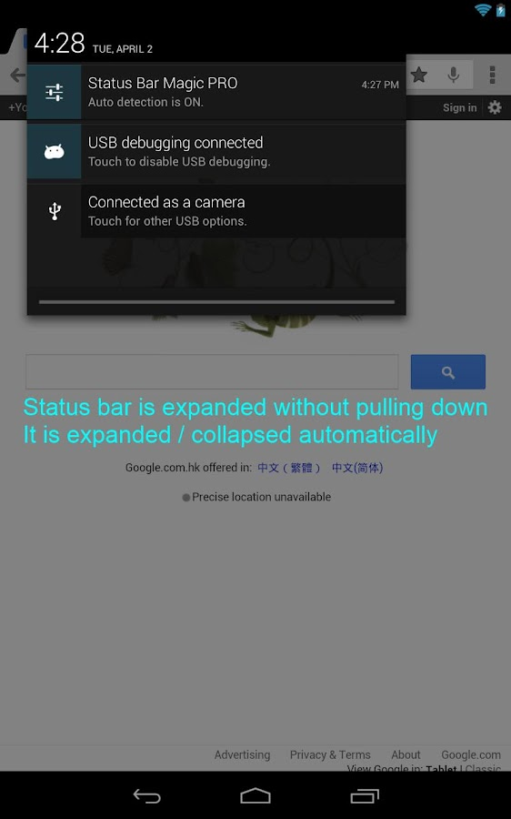 Status Bar Magic PRO Screenshot 2