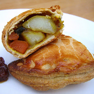 Spiced Vegetable Pasties Pastry Recipes