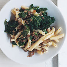 Pasta with Lentils and Kale