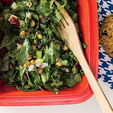Wheat Berry, Kale, and Cranberry Salad