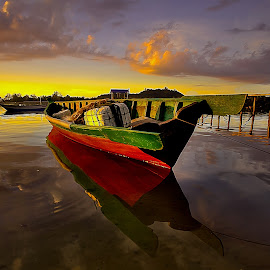 by Lawrence Chung - Transportation Boats
