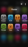 Screenshot of Lix GO Launcher Theme