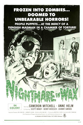 Nightmare in Wax (aka Crimes in the Wax Museum) (1969, USA) movie poster