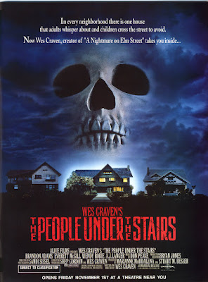 The People Under the Stairs (1991, USA) movie poster