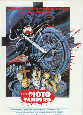 I Bought a Vampire Motorcycle (1990, UK) movie poster