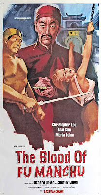The Blood of Fu Manchu (Kiss and Kill) (1968, Spain / Germany / UK / USA) movie poster