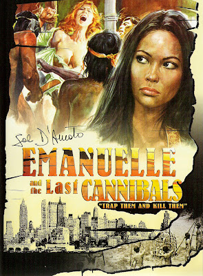 Emanuelle and the Last Cannibals (Emanuelle e gli ultimi cannibali) (1977, Italy) movie poster