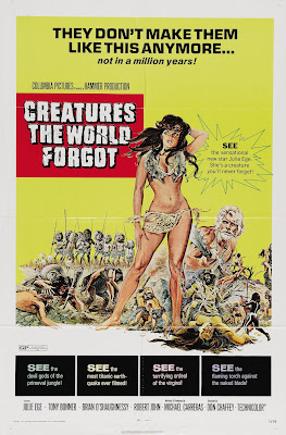 Creatures the World Forgot (1971, UK) movie poster