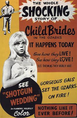 Shotgun Wedding (1963, USA) movie poster