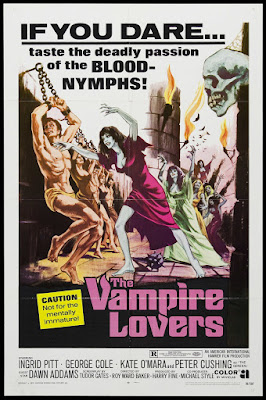 The Vampire Lovers (1970, UK) movie poster