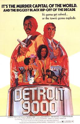 Detroit 9000 (1973, USA) movie poster