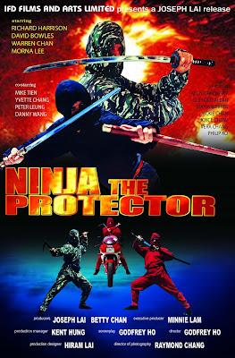 Ninja the Protector (1986, Hong Kong) movie poster