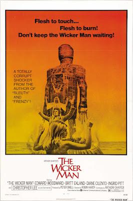 The Wicker Man (1973, UK) movie poster