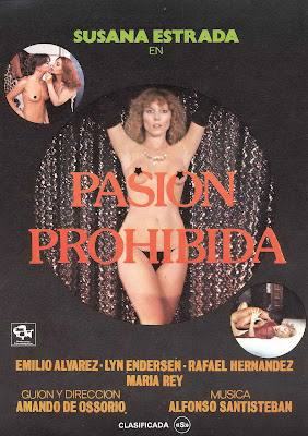 Forbidden Passion (Pasión prohibida) (1980, Spain) movie poster