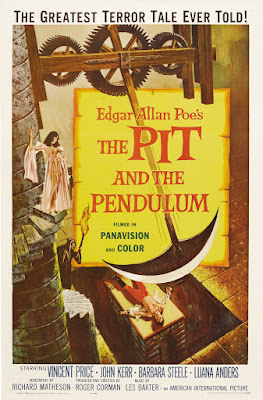 The Pit and the Pendulum (1961, USA) movie poster