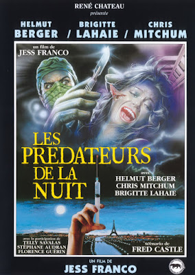 Faceless (Los Depredadores de la noche / Les Prédateurs de la nuit) (1988, Spain / France) movie poster
