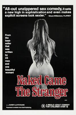 Naked Came the Stranger (1975, USA) movie poster