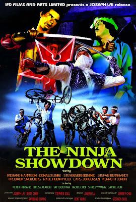 The Ninja Showdown (1987, Hong Kong) movie poster