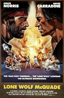 Lone Wolf McQuade (1983, USA) movie poster