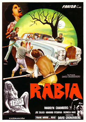 Rabid (aka Rage) (1977, Canada) movie poster