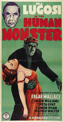 The Human Monster (The Dark Eyes of London) (1940, UK) movie poster