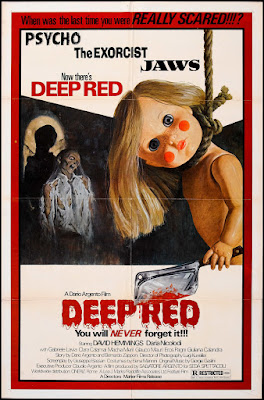 Deep Red (Profondo rosso) (1975, Italy) movie poster