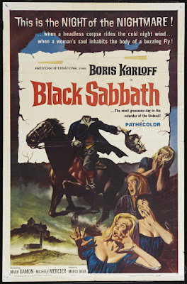 Black Sabbath (I Tre volti della paura / The Three Faces of Terror) (1963, Italy / France / USA) movie poster