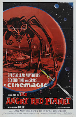 The Angry Red Planet (1960, USA) movie poster