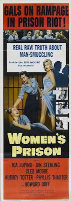 Women's Prison (1955, USA) movie poster