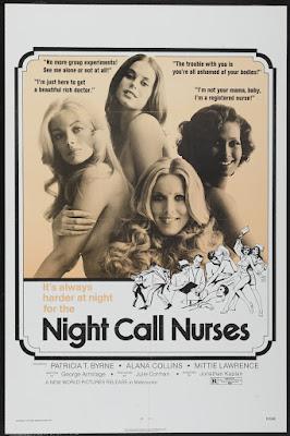 Night Call Nurses (1972, USA) movie poster