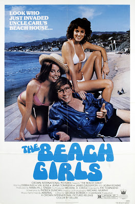 The Beach Girls (1982, USA) movie poster