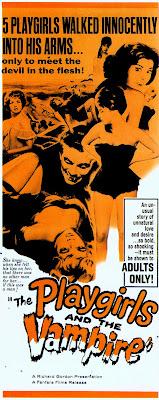 The Playgirls and the Vampire (L'Ultima preda del vampiro / The Vampire's Last Victim) (1962, Italy) movie poster