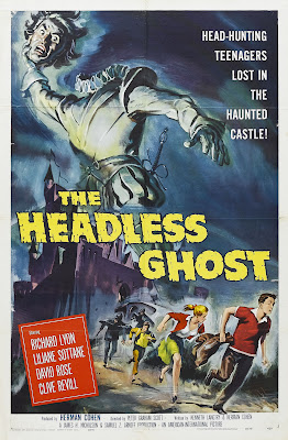 The Headless Ghost (1959, UK) movie poster