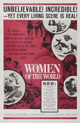 Women of the World (La Donna nel mondo) (1963, Italy) movie poster