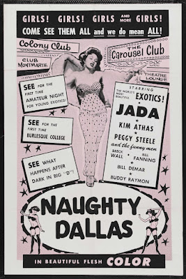 Naughty Dallas (aka Mondo Exotico) (1964, USA) movie poster