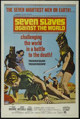 Seven Slaves Against the World (Gli Schiavi più forti del mondo) (1964, Italy) movie poster