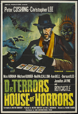 Dr. Terror's House of Horrors (1965, UK) movie poster