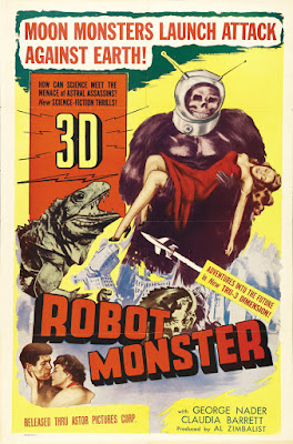 Robot Monster (1953, USA) movie poster