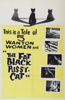 The Fat Black Pussycat (1963, USA) movie poster
