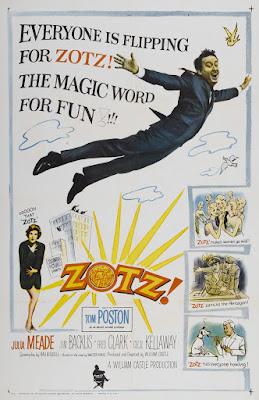 Zotz! (1962, USA) movie poster
